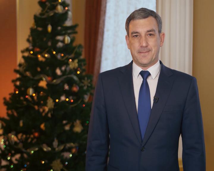 Губернатор Приамурья поздравил жителей региона с Новым годом