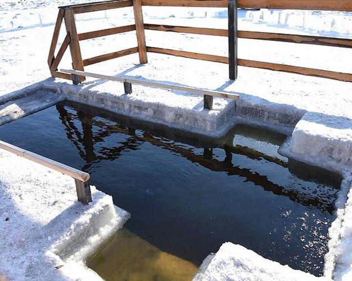 О местах для крещенского купания