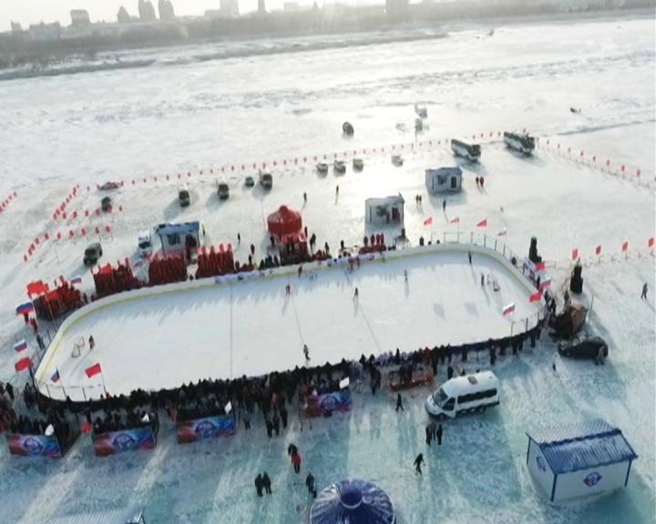 Любителям хоккея: Сегодня на льду Амура сойдутся команды России и Китая