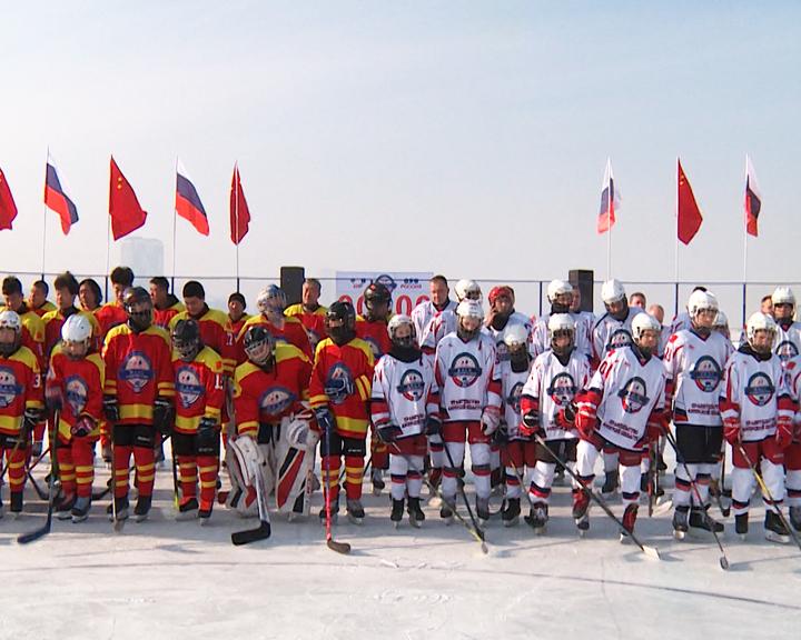 Хоккей на границе! «Лёд дружбы» укрепляет связь соседствующих государств
