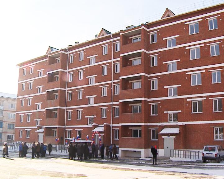 В северном посёлке Уруша почти 80 семей отмечают новоселье