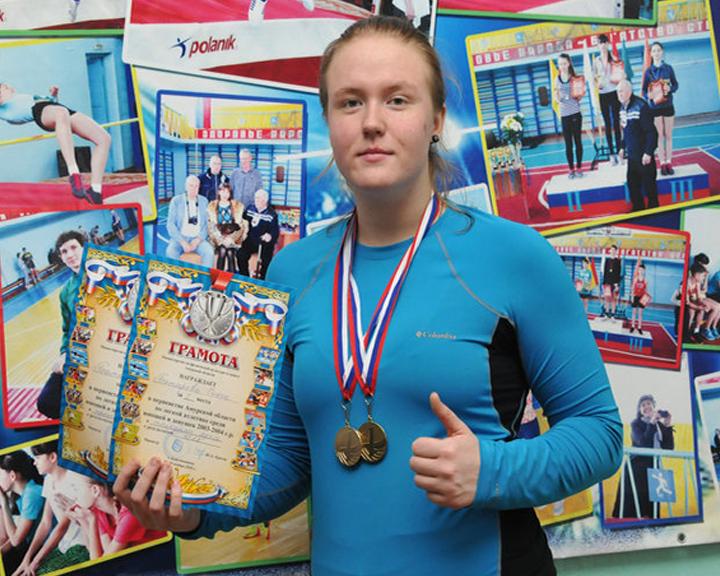 Спортсменка из Свободного Ольга Батырева победила на первенстве страны по легкой атлетике