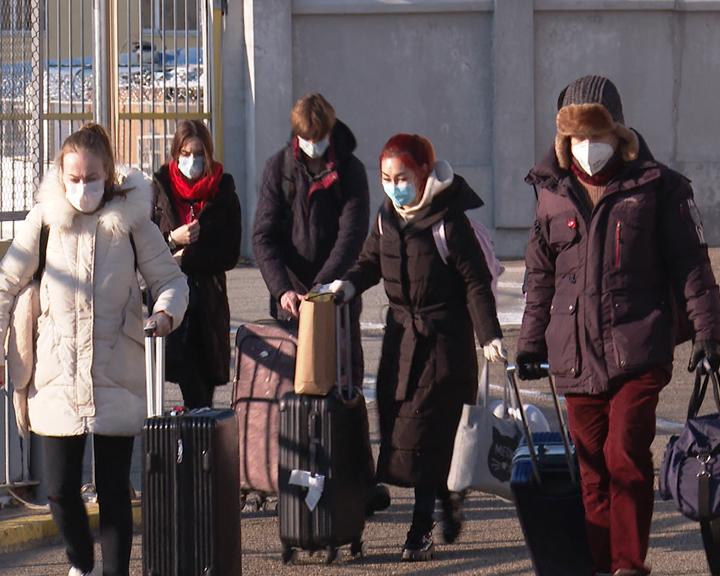 Ещё 45 россиян вернулись на родину через пункт пропуска Благовещенск-Хэйхэ