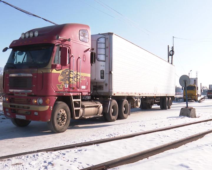 Между Благовещенском и Хэйхэ сегодня открыли грузовой транспортный коридор