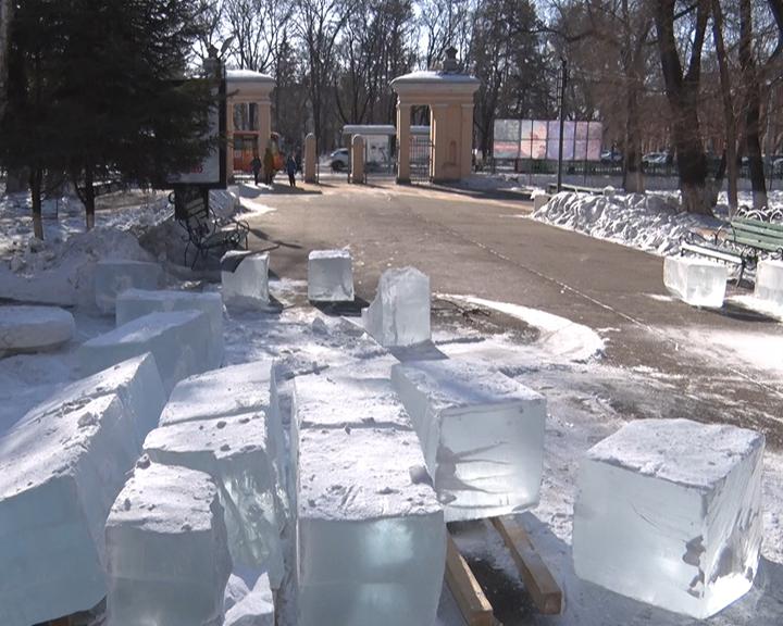 В сквере АОДНТ сегодня стартует конкурс ледовых скульптур