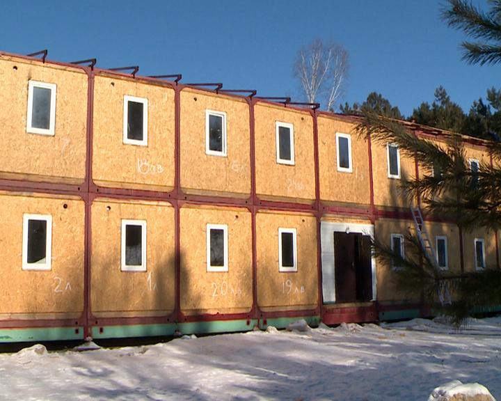 Гостиницы на 500 мест возводят в «Партизанской деревне» на полигоне ДВОКУ