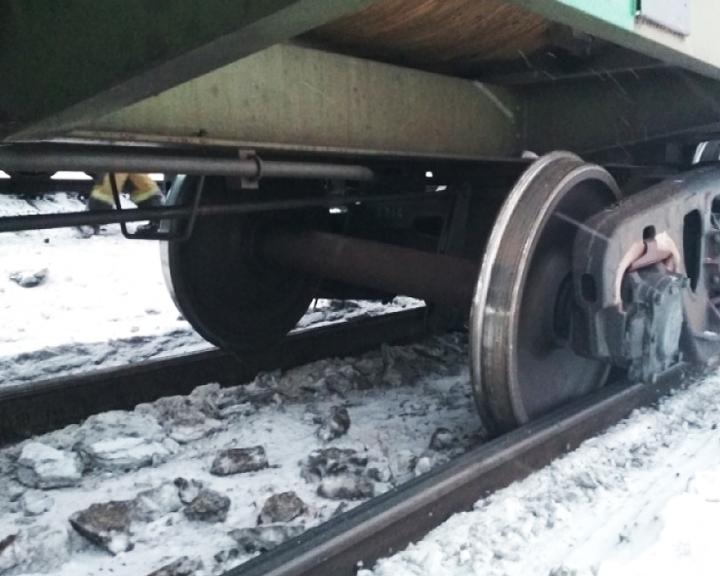 Авария на железной дороге: 7 вагонов сошли с рельсов в Сковородинском районе