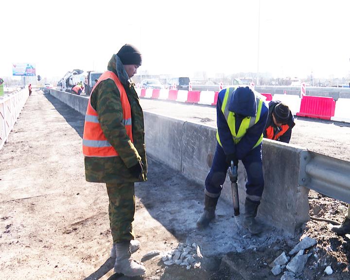 В Благовещенске с конца марта полностью перекроют путепровод по улице Загородной