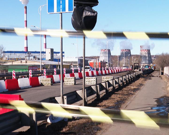 Движение по благовещенскому путепроводу на улице Загородной полностью перекроют