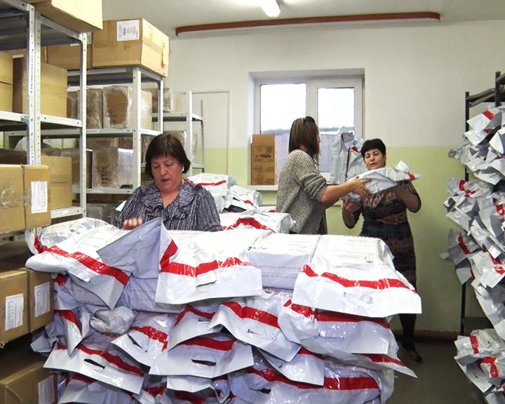 В Амурстат доставили анкеты для Всероссийской переписи населения