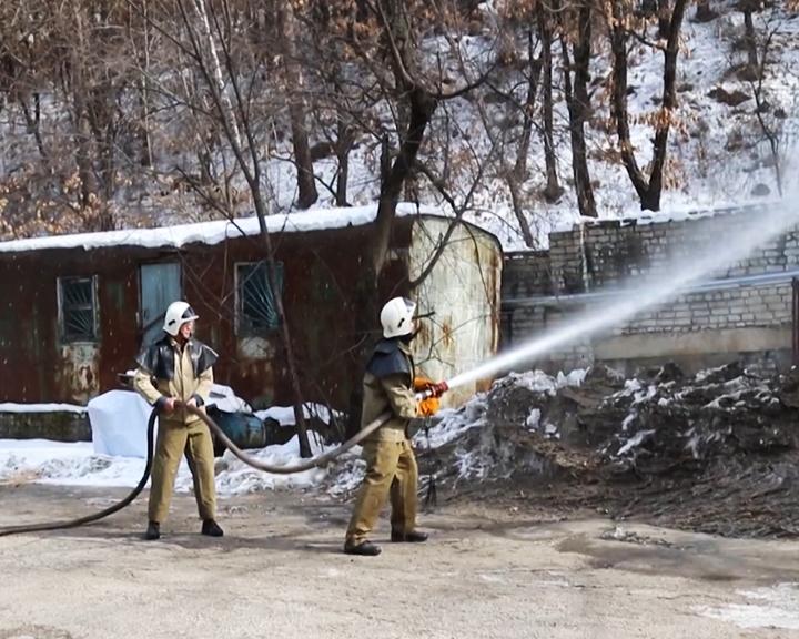 Добровольные огнеборцы из Новотроицкого и Мухинки готовы к слаженной работе
