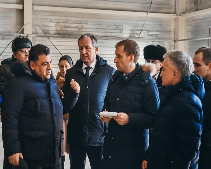Глава Минвостокразвития Александр Козлов и губернатор Приамурья Василий Орлов посетили Свободный