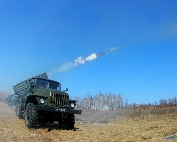 Амурские артиллеристы осваивают новую тактику уничтожения вертолетов управляемыми ракетами