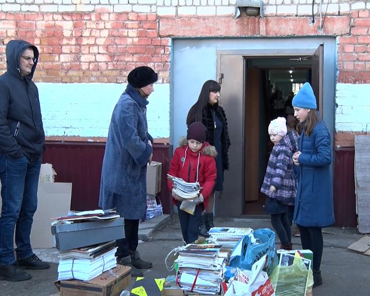 Благовещенские школьники собрали больше 6 тонн макулатуры