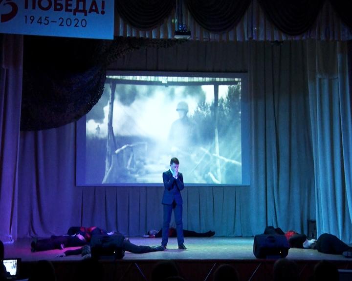 Участники областного смотра-конкурса «Салют Победы» из Прогресса представили свою концертную программу