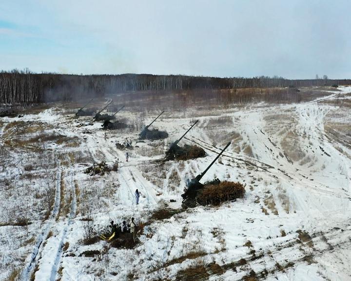 На амурском полигоне Трёхречье впервые применили «Гиацинт-С» как высокоточное оружие