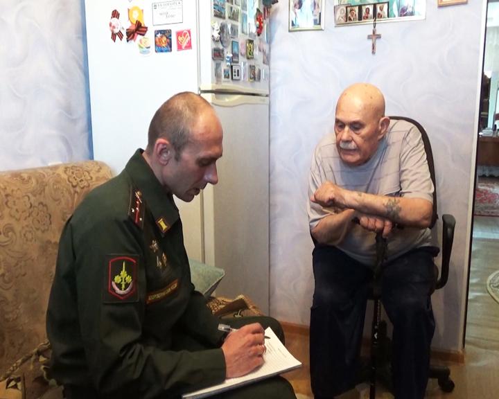 Офицеры 35-й армии собирают истории амурских ветеранов Великой Отечественной войны