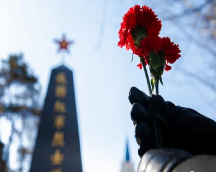 Память советских воинов, погибших в 1945-м, почтили в Хэйхэ