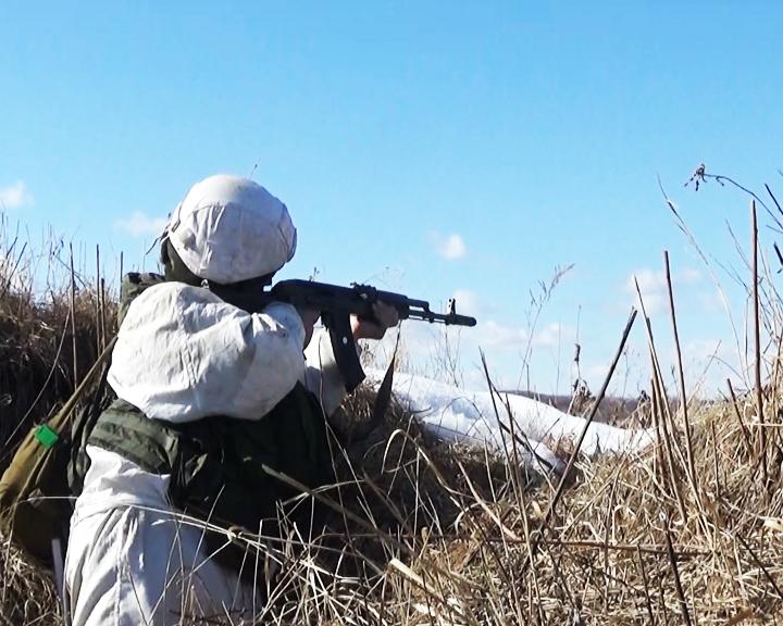 В Приамурье состоялось двустороннее тактическое учение с боевой стрельбой