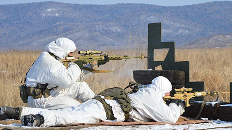 Амурские снайперы стреляли по монетам с дистанции 1 километр