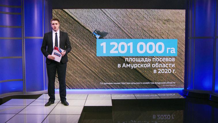Масштабные планы: В Приамурье в самом разгаре посевная кампания