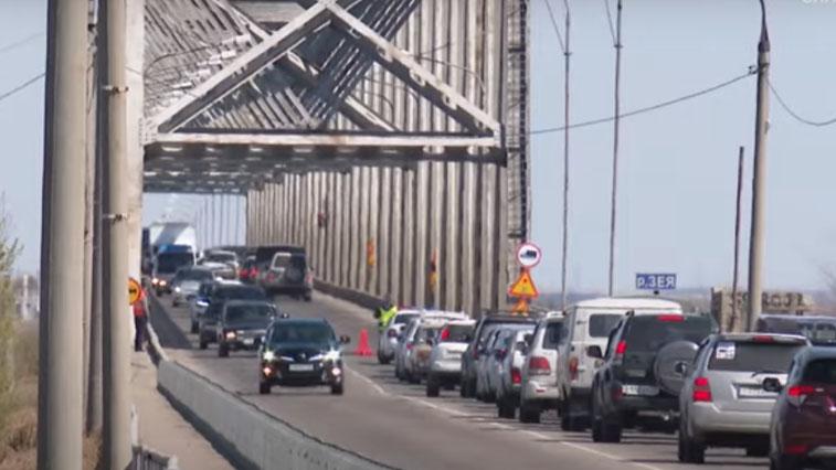 Капитальный ремонт автомобильного моста через Зею начнут в этом году