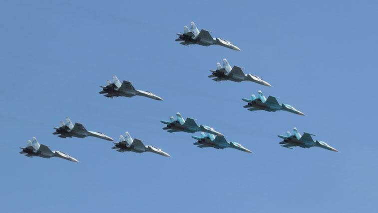 Над Благовещенском и Белогорском в День Победы пролетят истребители