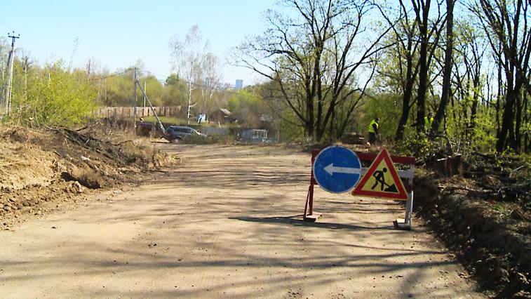 Объездную дорогу по благовещенской улице Нагорной планируют сдать уже в этом месяце