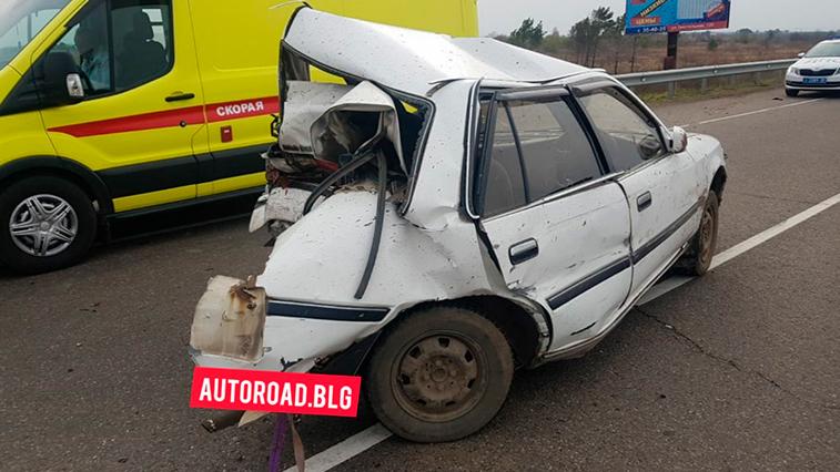 Жесткое ДТП произошло на трассе между с. Владимировка и постом ДПС на въезде в Благовещенск