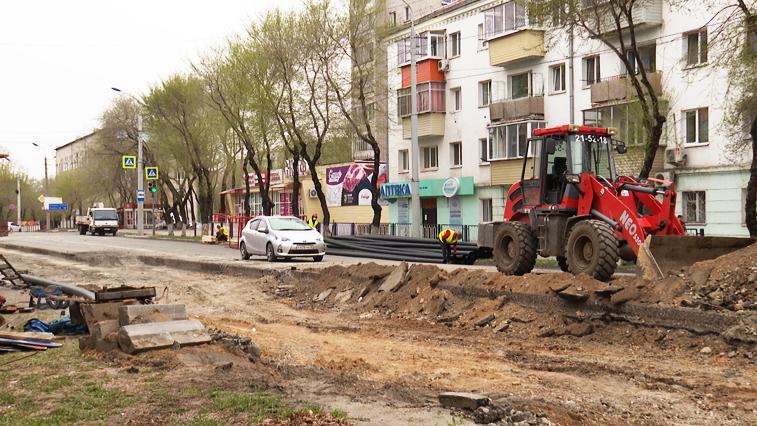 На участке благовещенской улицы Калинина заменят более 200 метров старых труб