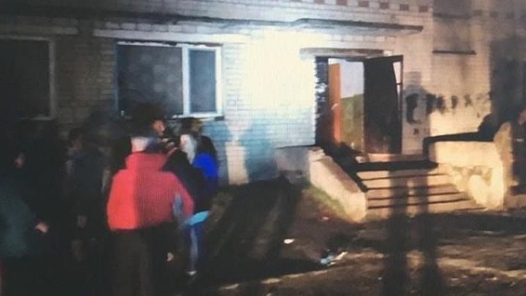 9 мая в с. Ивановка тушили пожар в двухэтажном доме