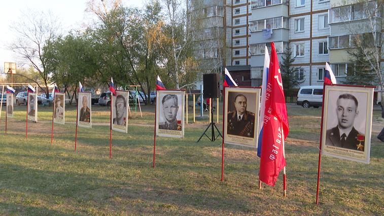 В п. Моховая Падь почтили память ветеранов-выпускников танкового училища