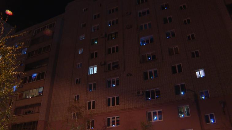 В Благовещенске зажгли 3,5 тысячи «Фонариков Победы»