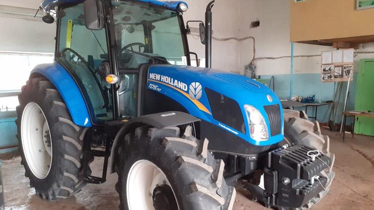 Для учащихся Амурского аграрного колледжа приобрели новый трактор