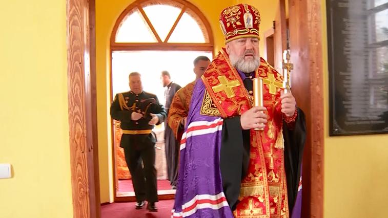 В Белогорске возвели храм имени Иоанна Воина