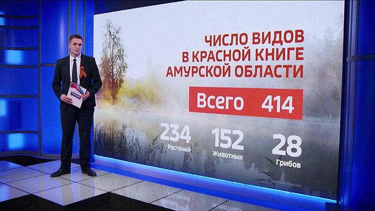 Представители амурской флоры и фауны пополнили Красную книгу России