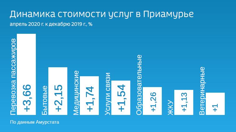 Больше других подняли цены перевозчики пассажиров. Как в Приамурье изменилась стоимость услуг