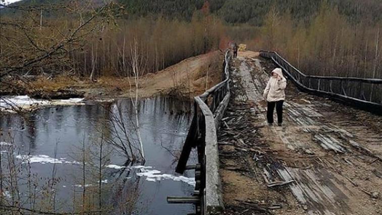 Дорогу между двумя поселками Тындинского района размыли дожди
