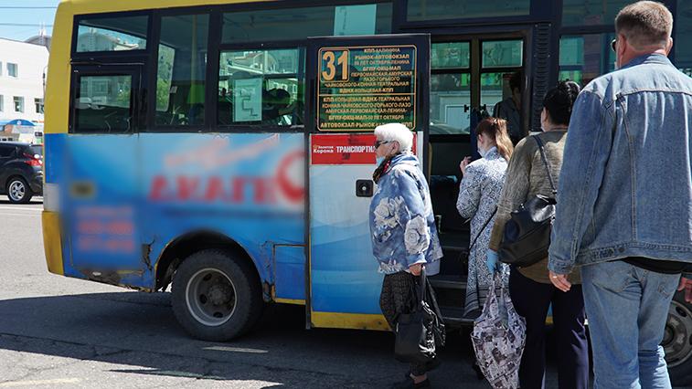 В Благовещенске из-за ремонта на ул. Красноармейской автобусы будут ходить по другому маршруту