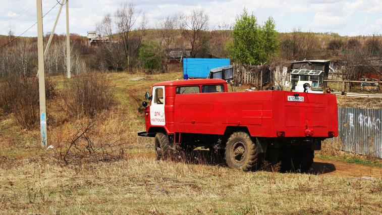 Амурские добровольцы отстояли населенные пункты от природных пожаров