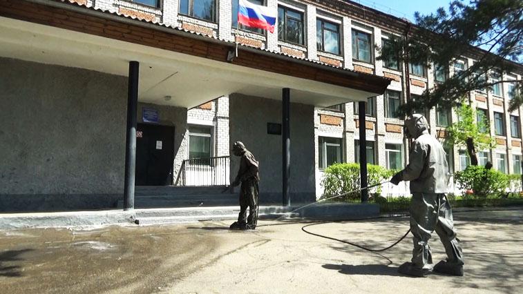 В Шимановске продезинфицируют всю территорию города