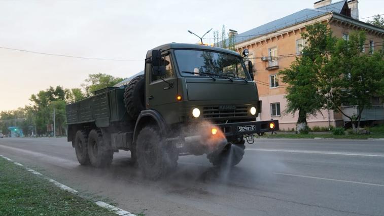 Территорию Свободного и Амурского ГПЗ продезинфицируют военнослужащие
