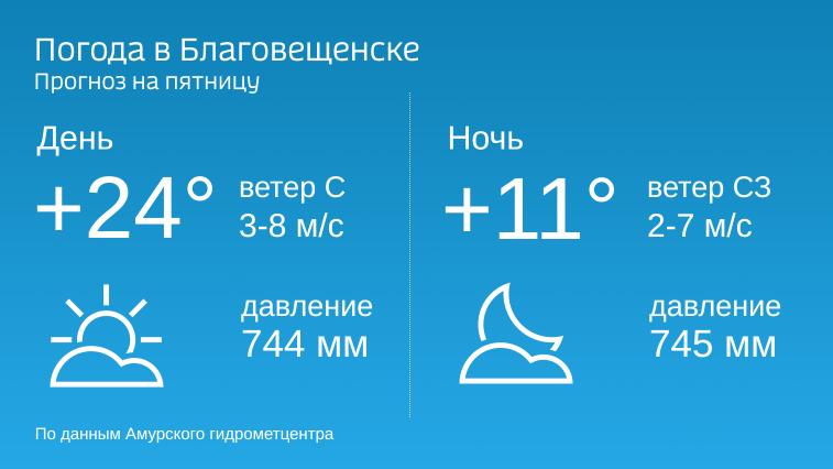 Наконец-то без дождей: в Приамурье возвращается солнечная погода