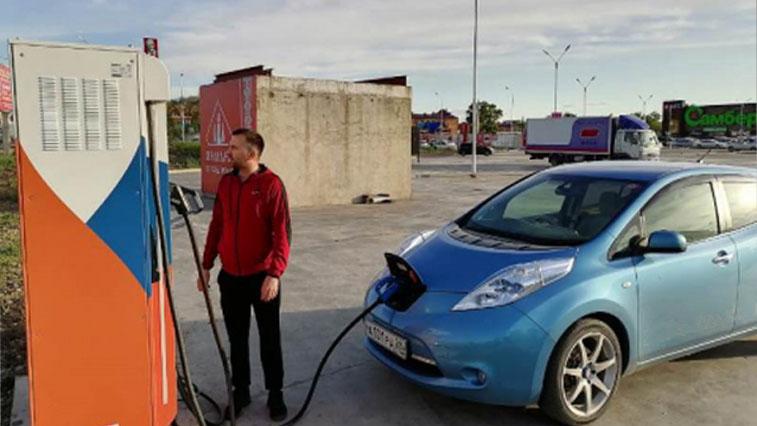 Третья зарядная станция для электромобилей открылась в Благовещенске