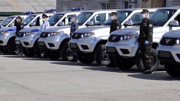 Автопарк областного управления Росгвардии пополнился новыми «Патриотами»
