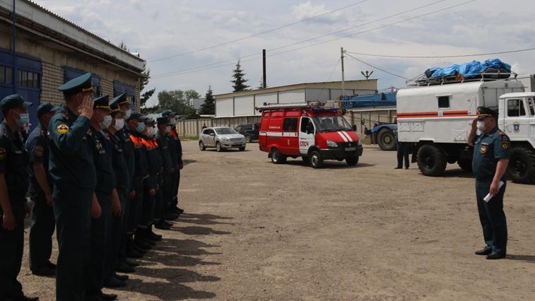 Группа спасателей отправилась в Селемждинский район контролировать возможный паводок