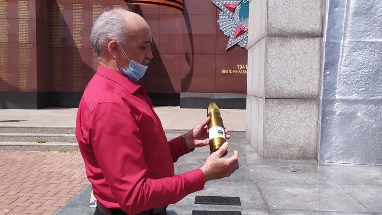 Капсулы с землей городов-героев поместят в мемориал на площади Победы