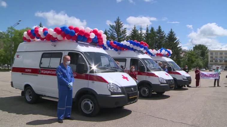 Тремя машинами скорой помощи пополнился парк спецавтомобилей Свободненской больницы
