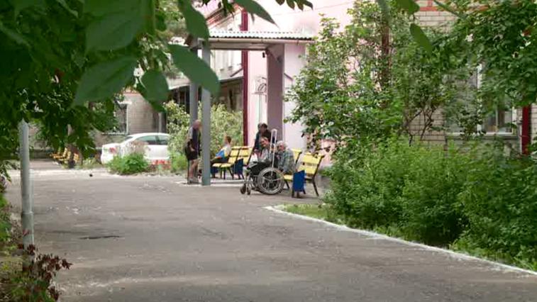 Работники Благовещенского дома-интерната заступили на двухнедельное дежурство