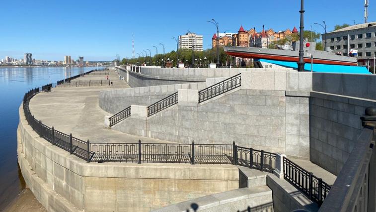 Два участка набережной в Благовещенске построят в течение двух лет